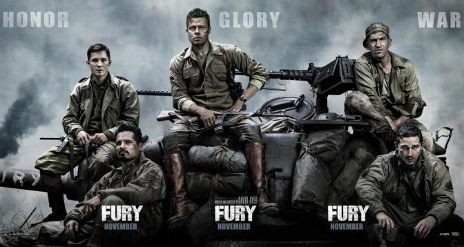 "Although a fun ride, ""Fury"" is a forgettable WWII film"