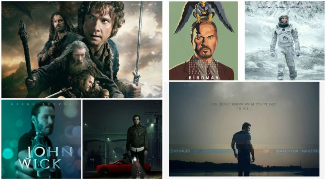 Best Films of 2014 by Genre