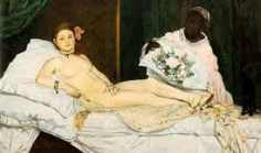 """""""Olympia"""" by Édouard Manet (1867)"""